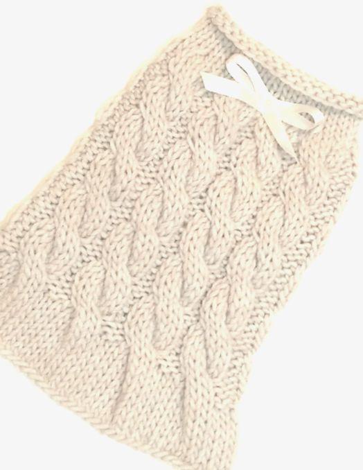 Cabled dog sweater - Pastel Dog clothes - Pet Clothing - Custom dog ...