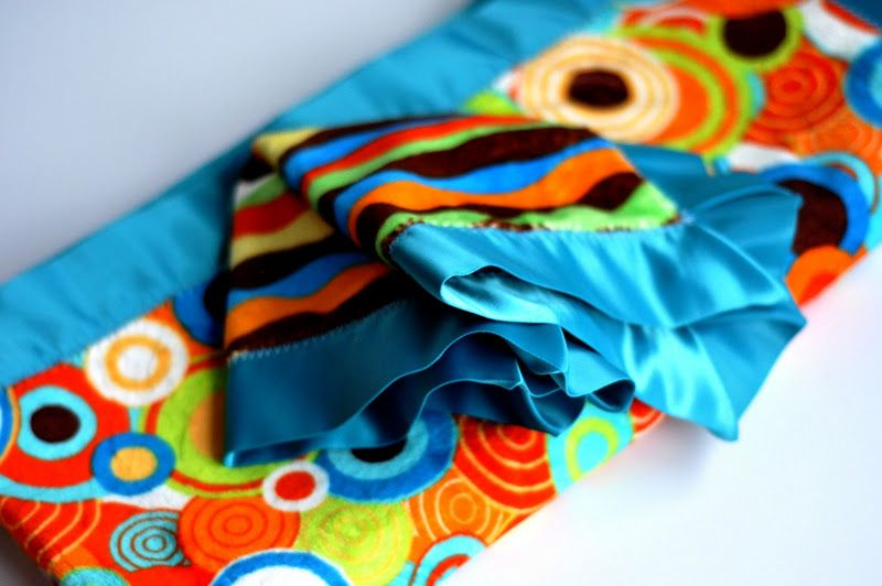 Aesthetic Nest: Sewing: Lovey Boy and Square Satin Luxe Blanket (Tutorial)