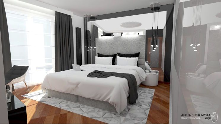 Sypialnia 17m2 Myhome Sypialnia Nowoczesny Modern Home Home Decor Furniture