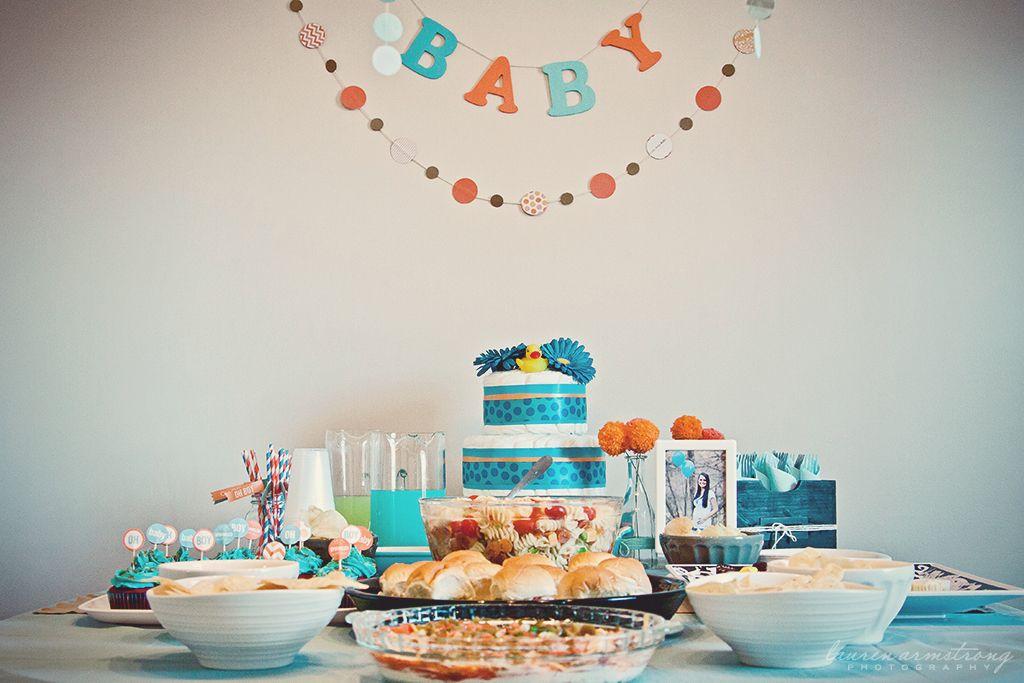 Project Nursery - decor + food table