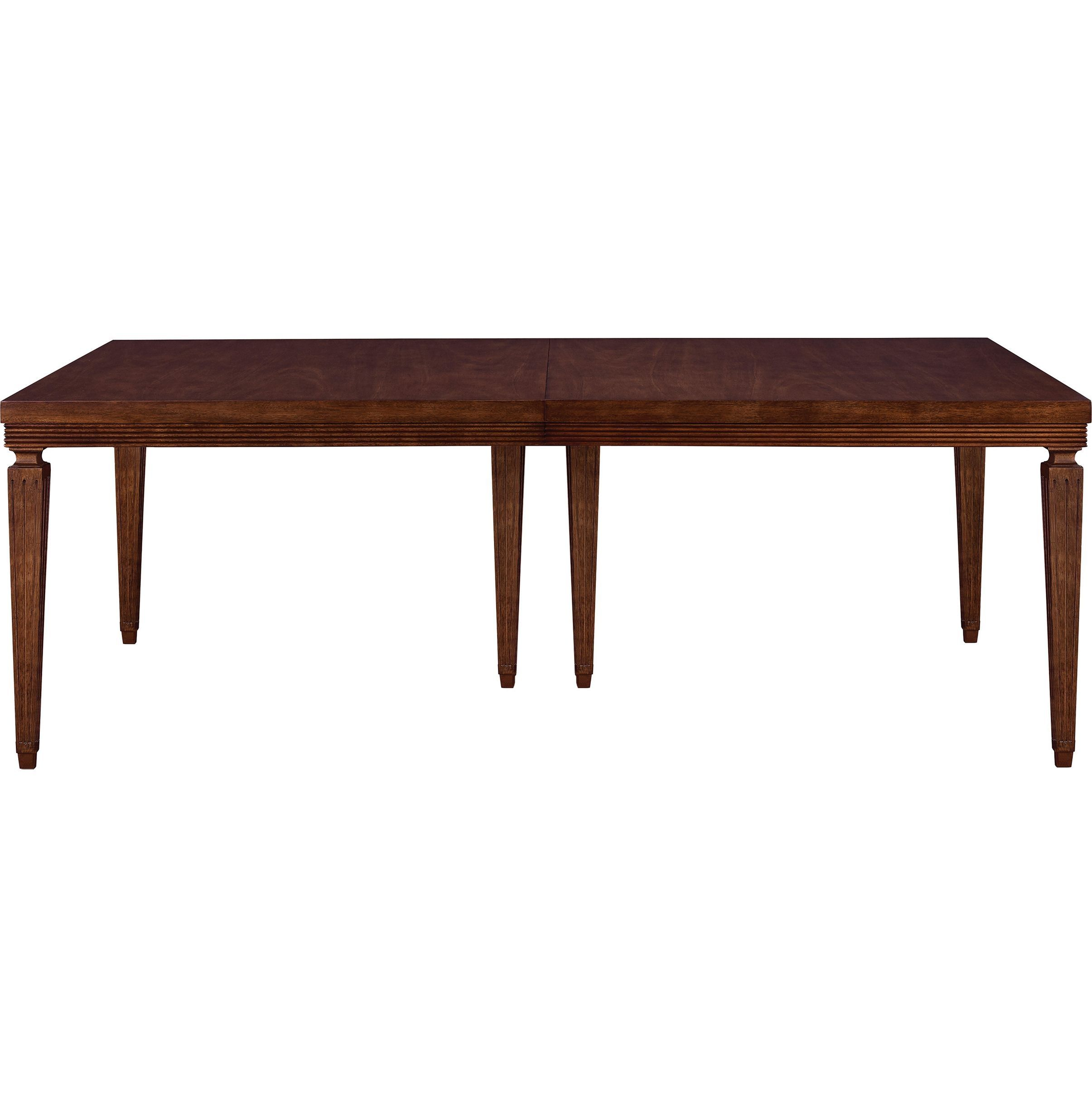 Chateau Reeded Apron Dining Table (With images) Hickory
