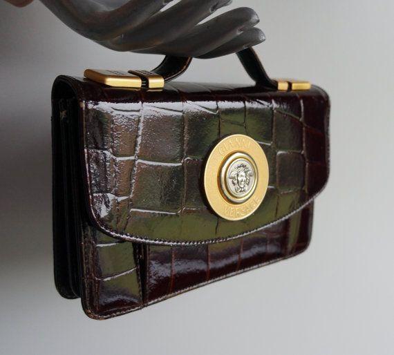 764ce326962f gianni versace vintage clutch bag Versace Bag