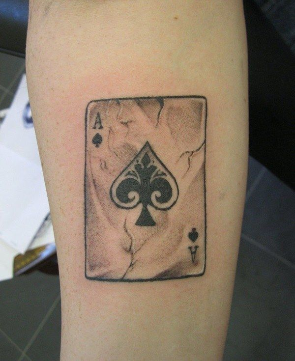 24 Awesome Ace Of Spades Tattoos With Powerful Meanings Con
