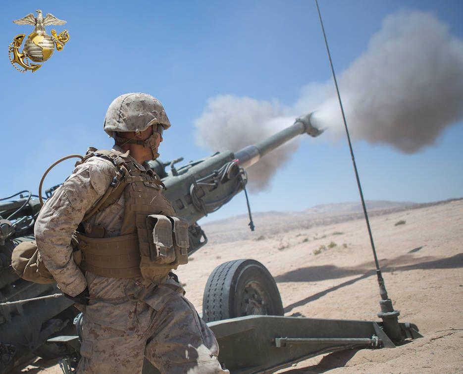 June 16 2016 Marine Fires Howitzer Marine Forces Marines Marine Corps