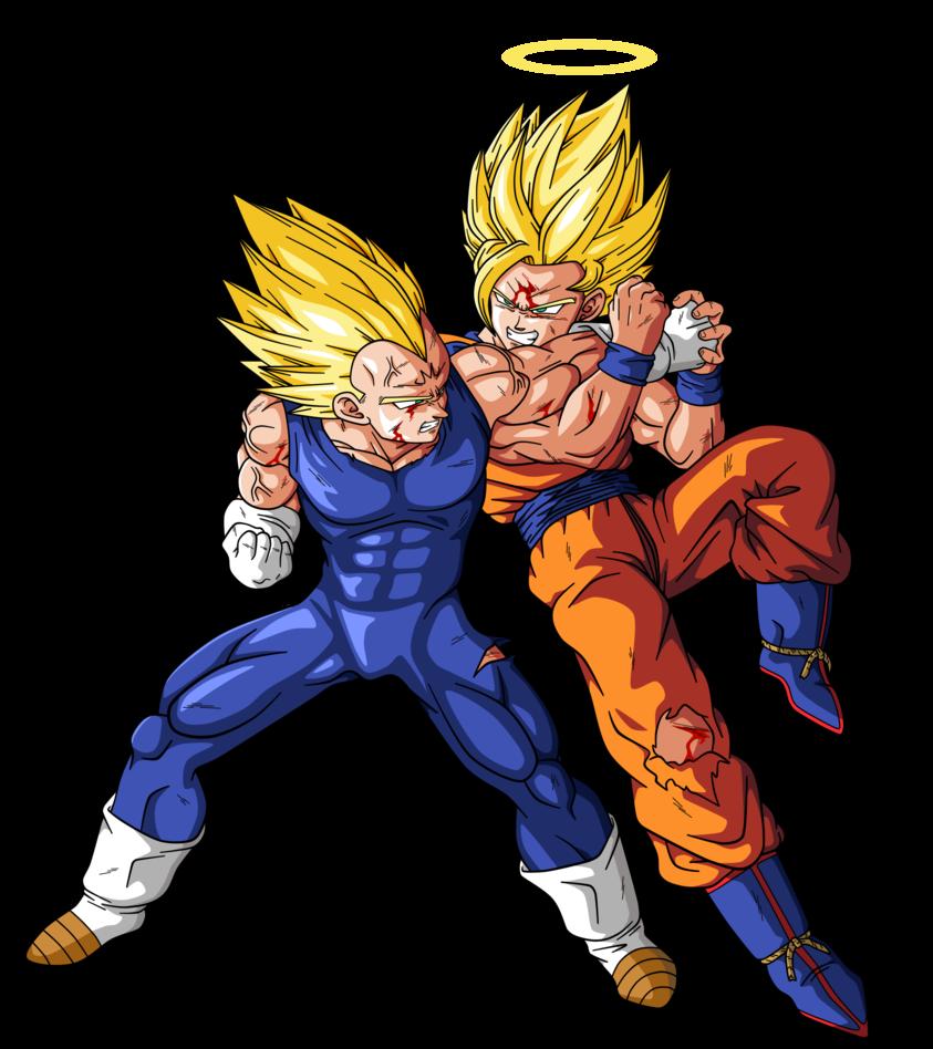 Goku Vs Majin Vegeta By Bardocksonic Visit Now For 3d Dragon Ball
