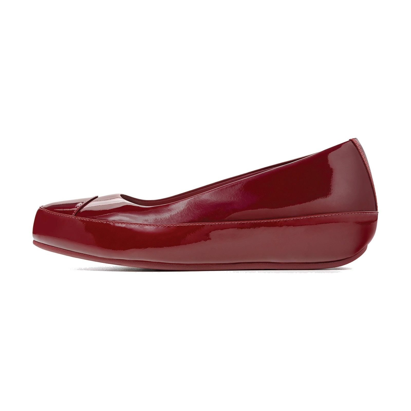 a837219fb7f2 FitFlop Due Patent Hot Cherry   I need these shoes. Neeeeeed ...