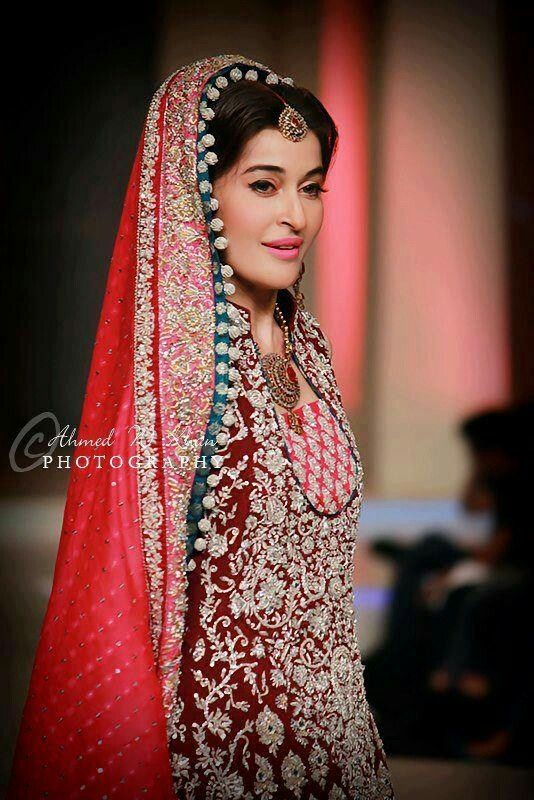 Traditional Pakistani Bridal Dresses 2016-2017 | pakistani couture ...