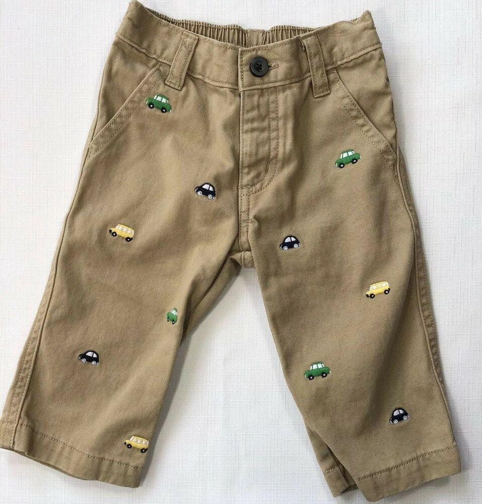 Gymboree Baby Boy Khaki Cargo Shorts 0-3 Months NWT