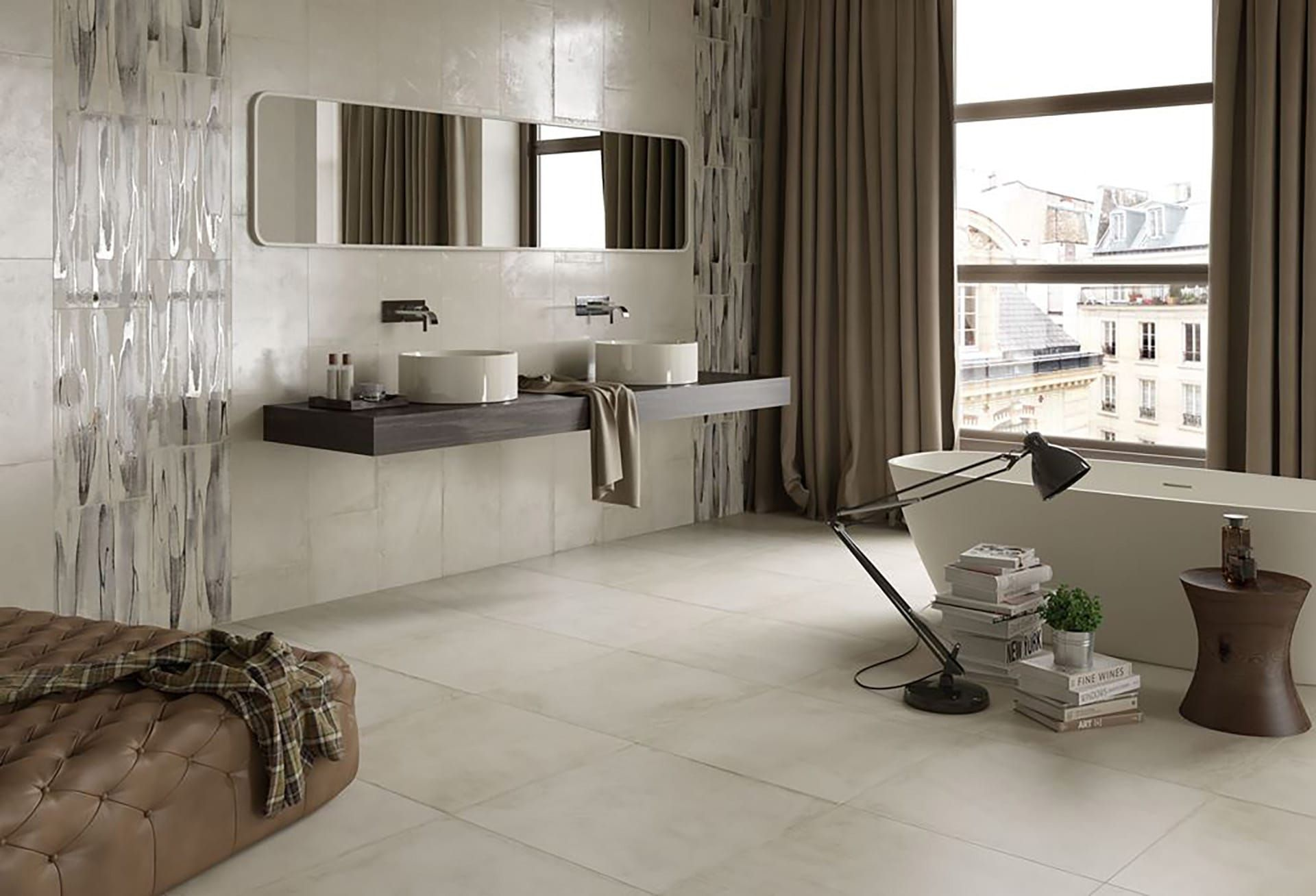Create a stylish industrial and contemporary look in any room with create a stylish industrial and contemporary look in any room with concrete effect tiles for floor dailygadgetfo Image collections