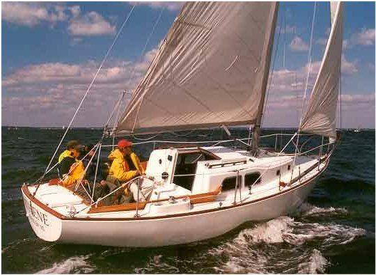 Pearson Renegade photo on sailboatdata.com