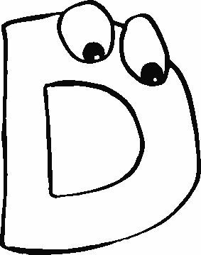 Patrones De Letras Con Ojitos Album Letters Alphabet