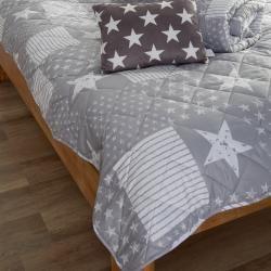 Photo of Bedspread Sofie (260×220, gray) Danish bed storageDanish …