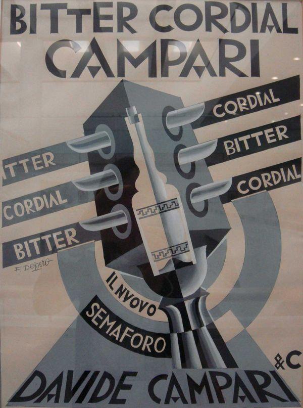 Depero | Depero | Pinterest | Italienische getränke, Werbeplakat und ...