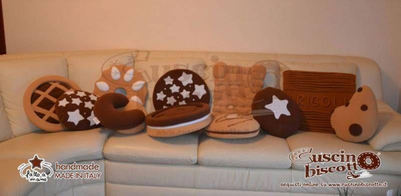 Cuscini A Biscotto.Pin Su Diy Craft Projects