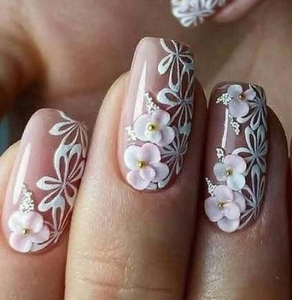200 3d Nail Art That Will Help You Rock 2020 In 2020 3d Nails Cute Acrylic Nails 3d Flower Nails