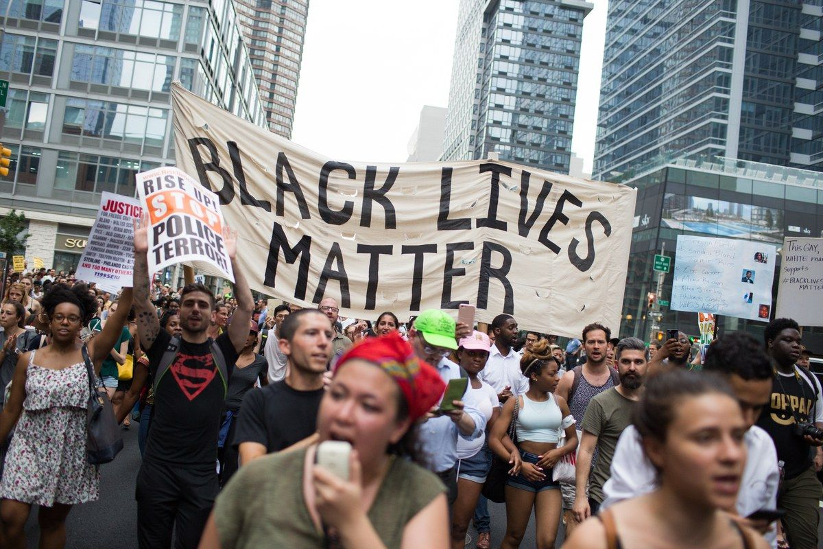 See How People Proclaimed That Black Lives Matter In New York City Black Lives Matter Life Black Lives