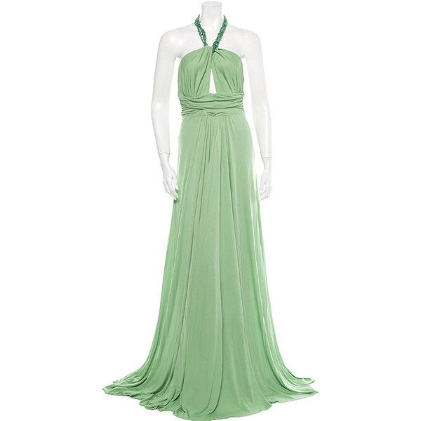 Pre-owned Michael Kors Gown ($575) ❤ liked on Polyvore featuring ...