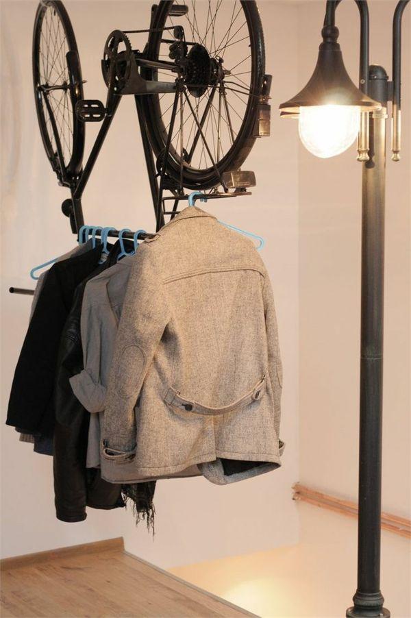 Ankleidezimmer Selber Bauen Kleiderständer Fahrrad