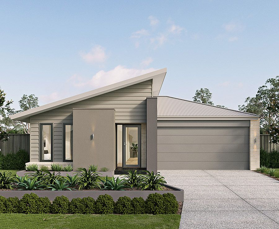 The Kalarney Corner Block House Designs With Metricon Facade House House Design Modern House Design