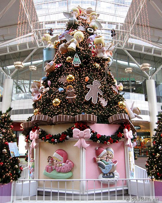 Precious Moments Christmas Tree At Jurong Point, Singapore
