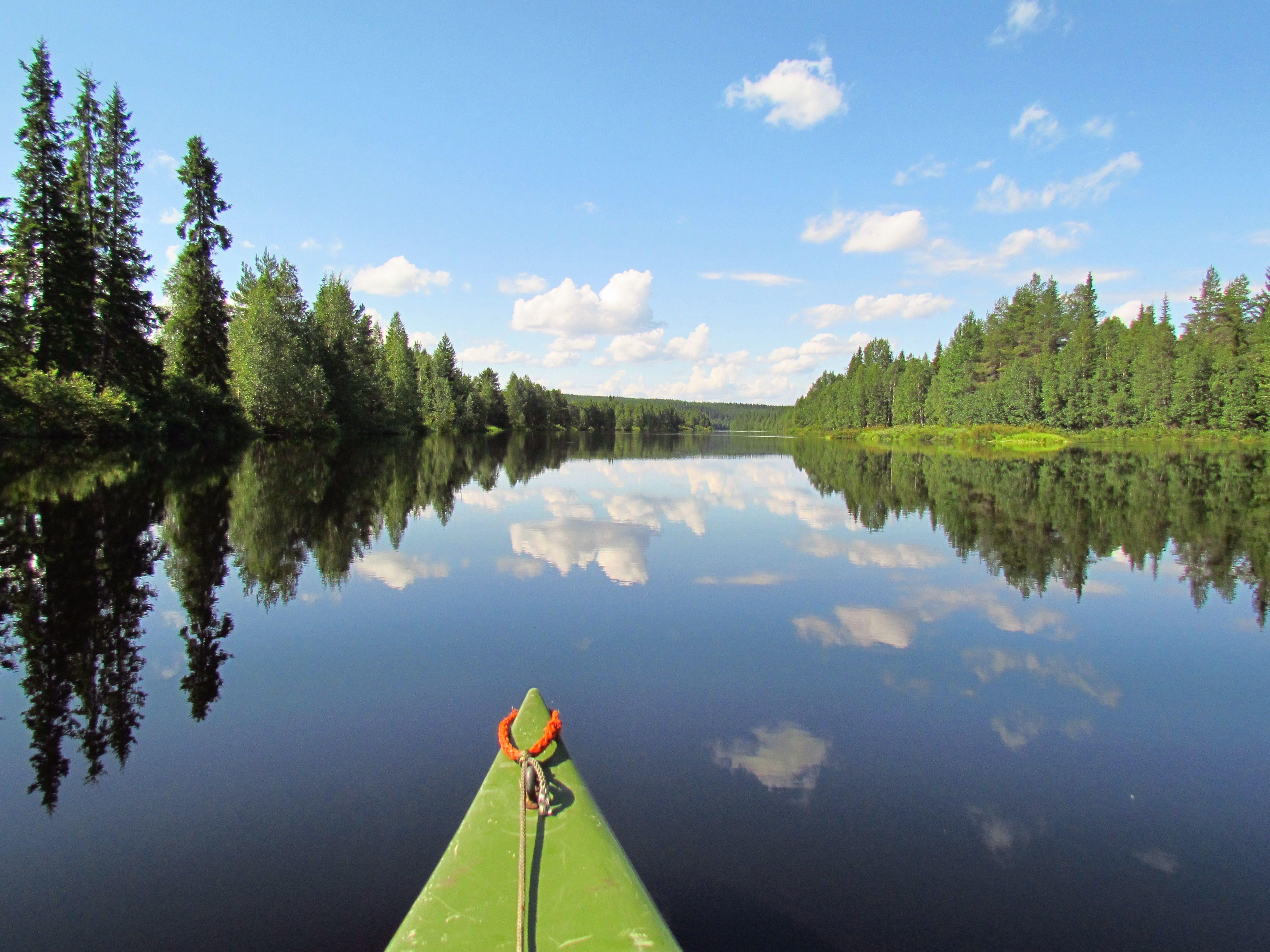 Das Ferienhaus Finnland Saija Lodge in Taivalkoski bietet