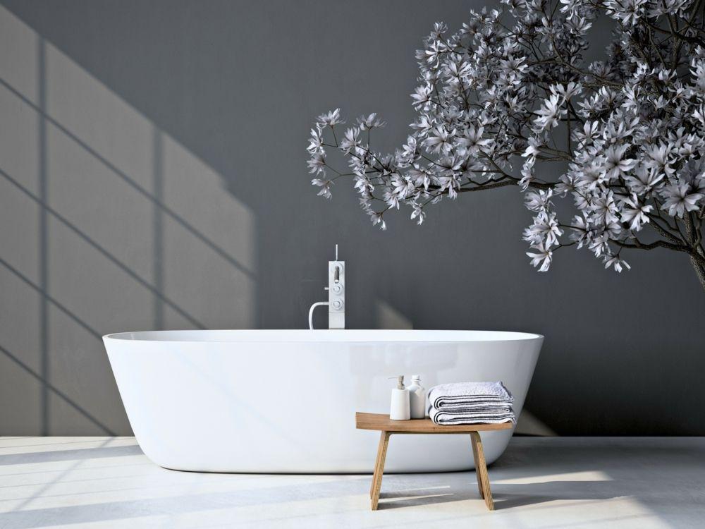 Badezimmer Ideen - modernes Design und Funktionalität in einem - deko und mobeldesign ideen eleganz funktionalitat