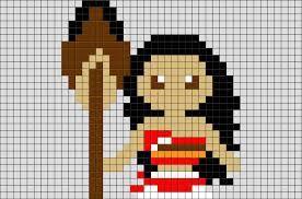 Resultat De Recherche D Images Pour Pixel Art Vaiana Perles A