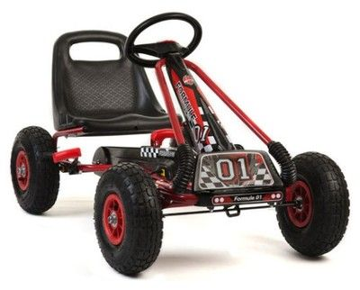 Gokart Na Pedaly Formule 01 Pompowane Kola 4kids 6318862878 Oficjalne Archiwum Allegro Go Kart Electric Scooter For Kids Go Karts For Sale