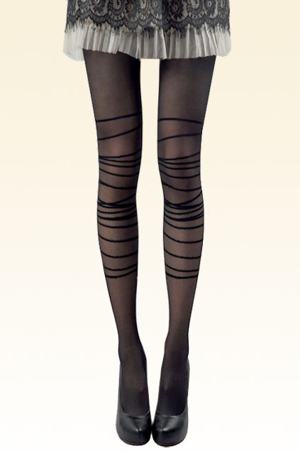 Sexy Interlaced Belt Tights $9.90