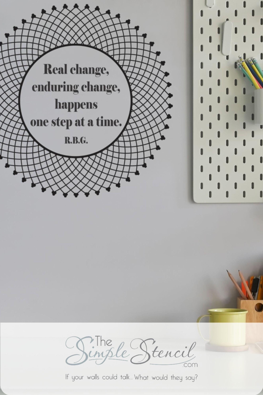 Motivational Graphics Inspirational Design Stencil Custom Vinyl Wall Decal Decor Art Do More Typography