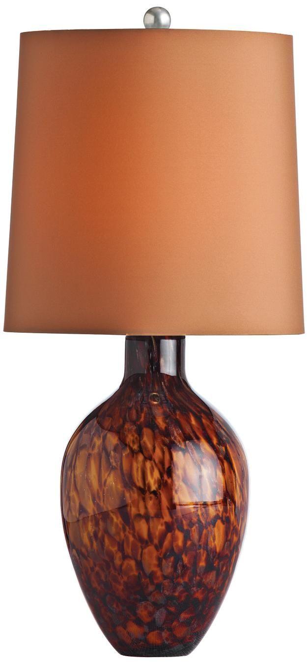 Arteriors Home Ty Tortoise Shell Glass Table Lamp Lampsplus Com
