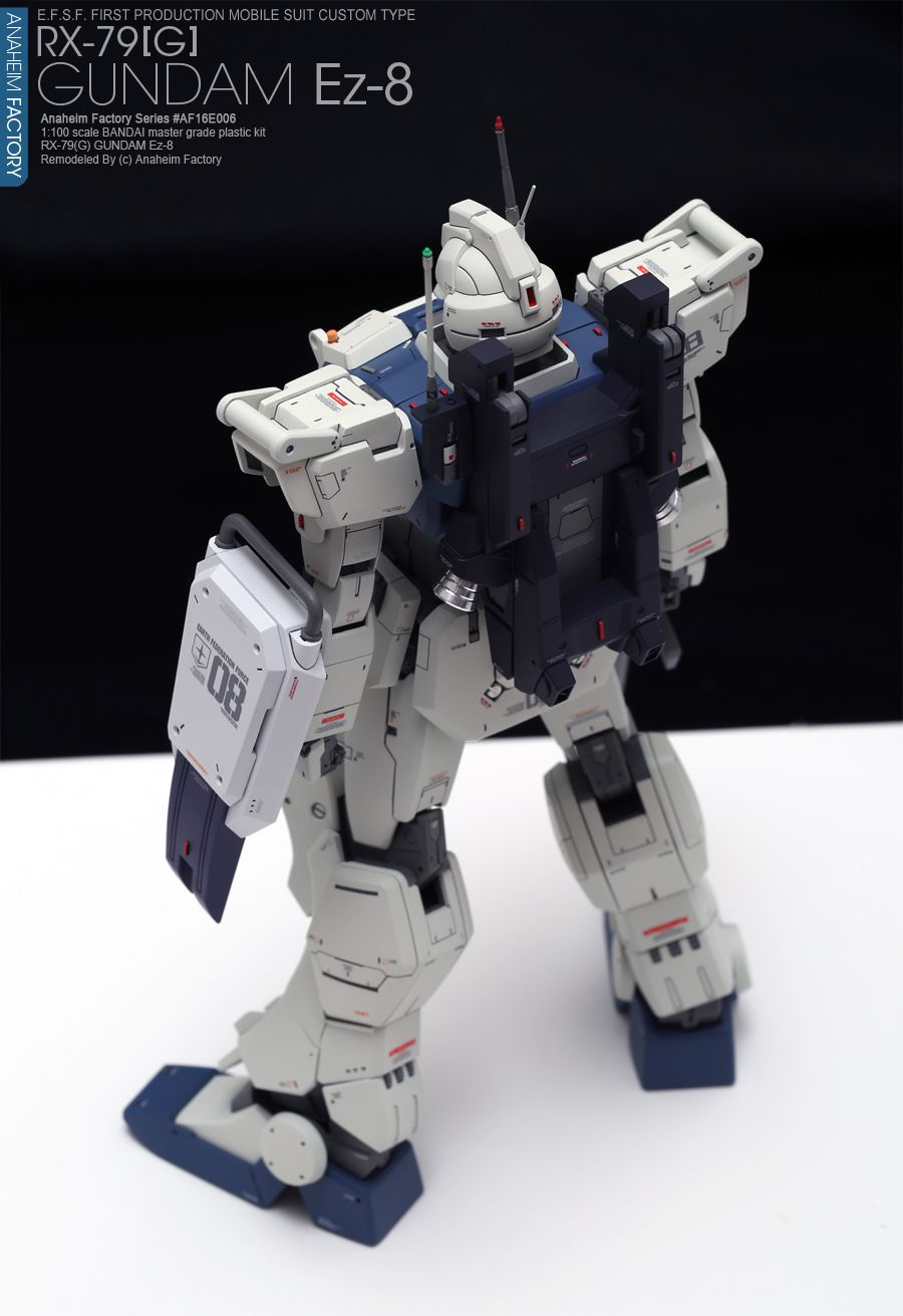 "RX79[G] GUNDAM Ez8 ""Refine version"" 프라모델 캐릭터모형 갤러리"