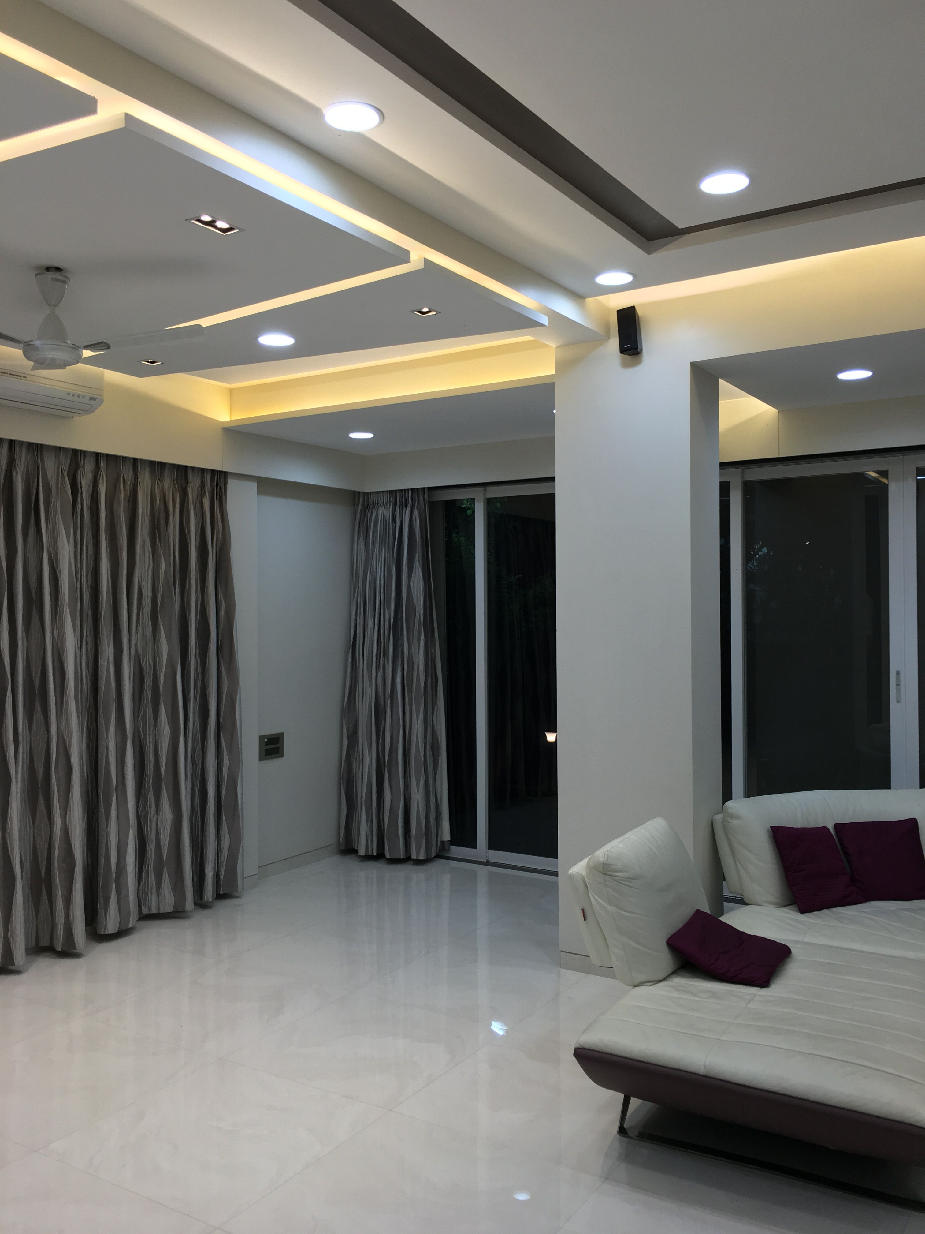 Living Modern Contempoarary Villa Ceiling Lighting Bedroom False