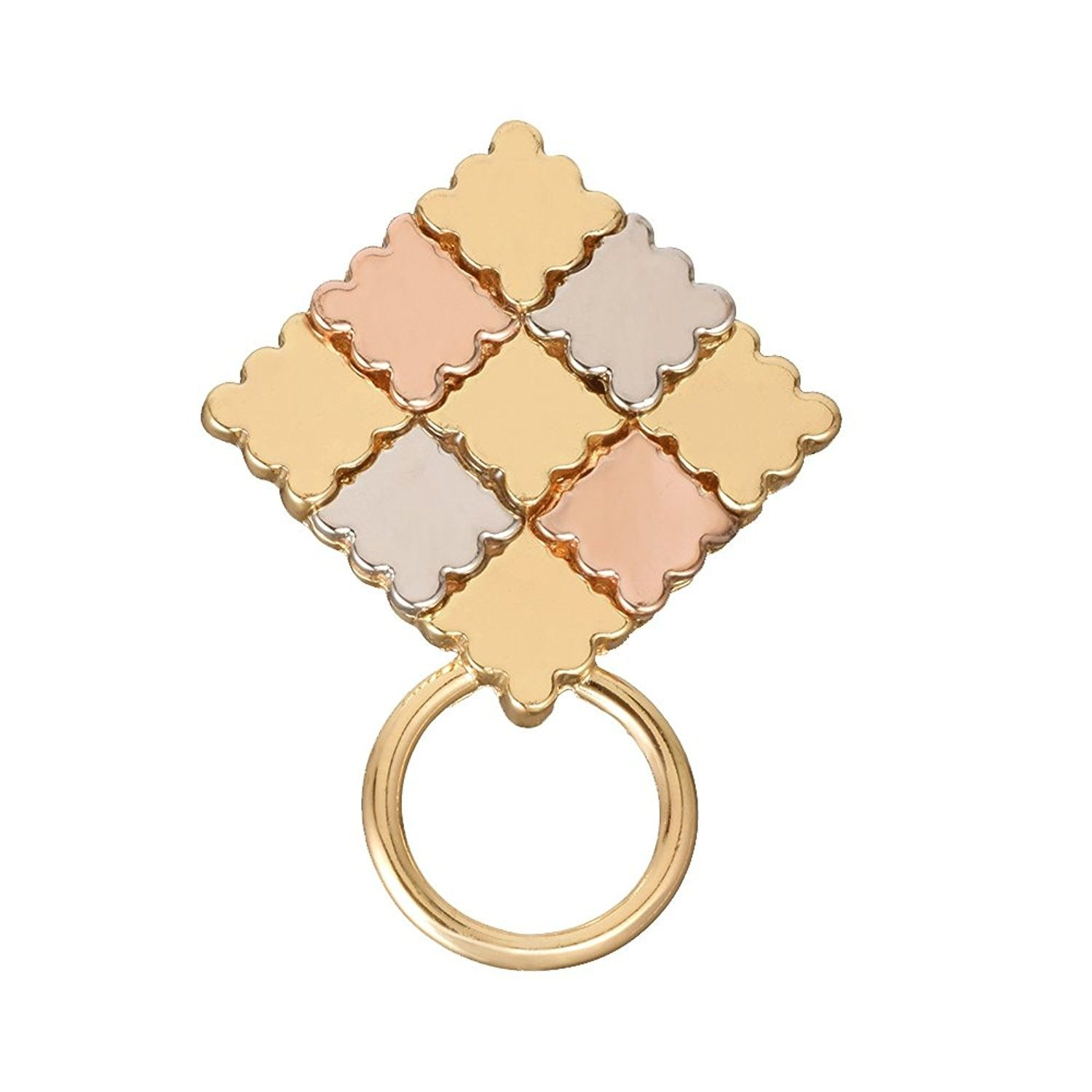 3 Colors Puzzle Piece Lapel Pin Brooch Pin Magnetic