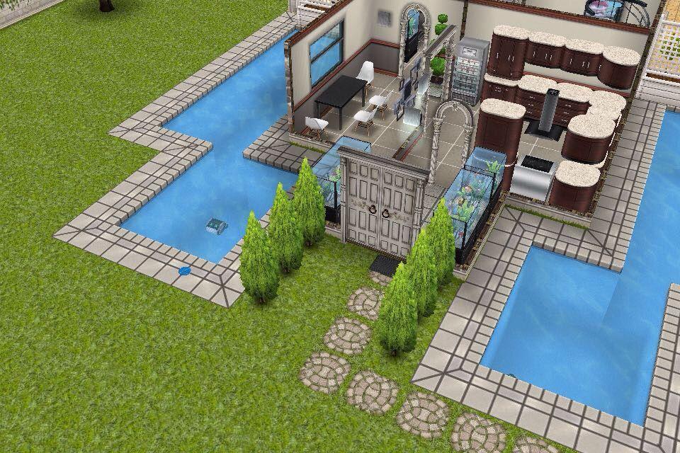 House 3 / 1st building / entrance / double door