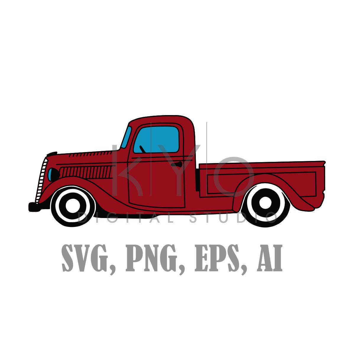 Old Pickup Truck Svg Files 1937 Ford Pickup Truck Svg Files Etsy Old Pickup Trucks Vintage Pickup Trucks Old Pickup