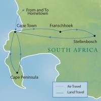 Itinerary idea for Cape Town-Travcoa