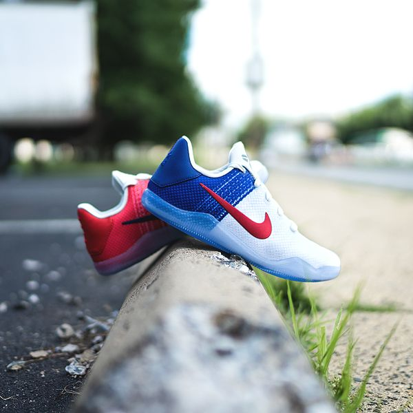 100% authentic a3f9c adf05 NIKE - GRADE SCHOOL KOBE 11 (WHITE   DEEP ROYAL BLUE   UNIVERSITY RED)