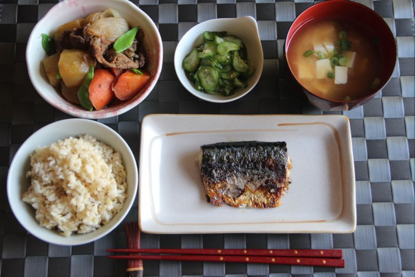 Image result for typical japanese supper
