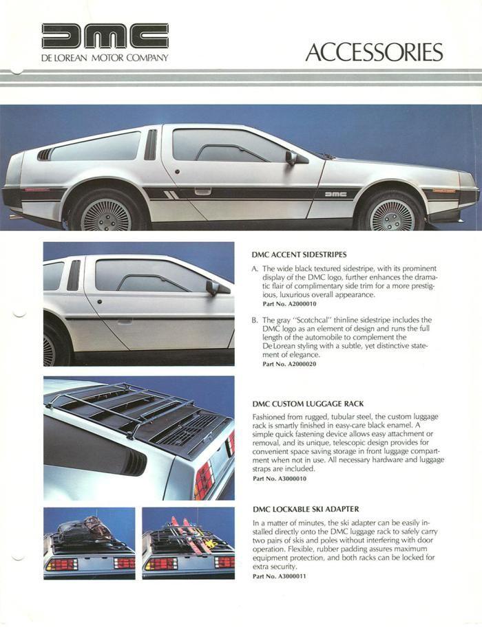 More cool DeLorean stuff :>