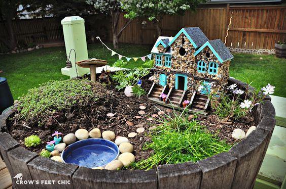 16 Do-It-Yourself Fairy Garden Ideas For Kids | Garden ideas, Fairy ...