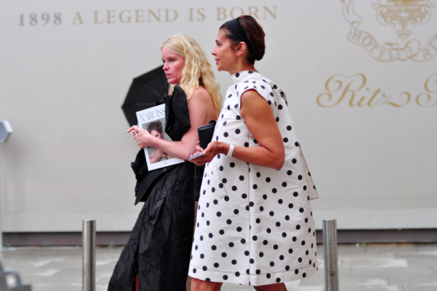 Haute #Couture #Fashion Week: The best #streetsyle outfits #Fashionweek  #Paris #dress