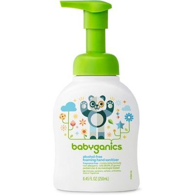 Babyganics Alcohol Free Foaming Hand Sanitizer Fragrance Free