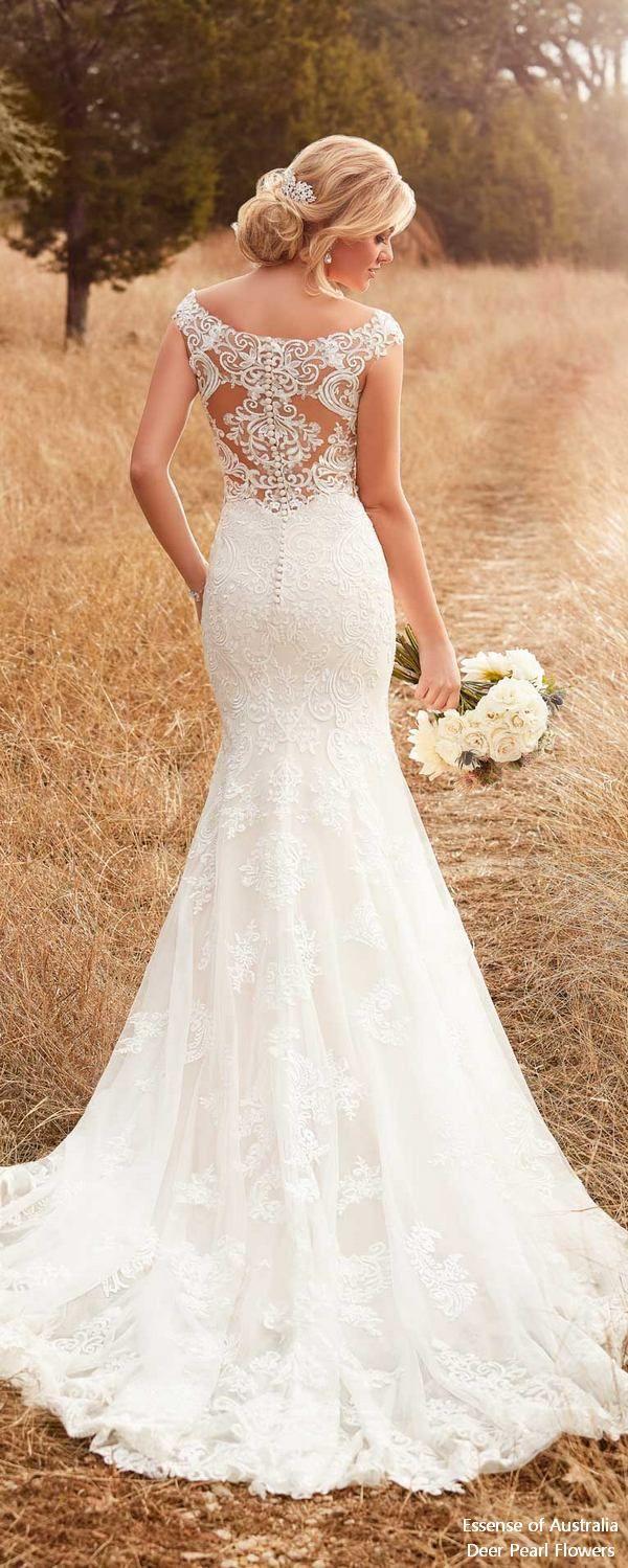 Essense of Australia Wedding Dresses  Rückenfreies hochzeitskleid