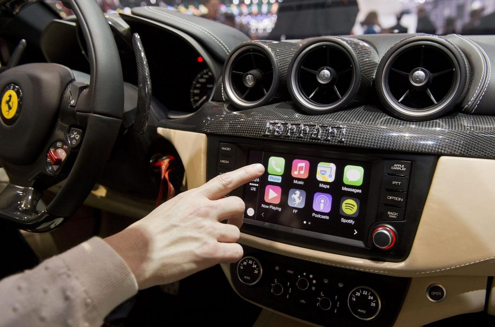 You Might Not Need A New Ferrari To Use CarPlay After All