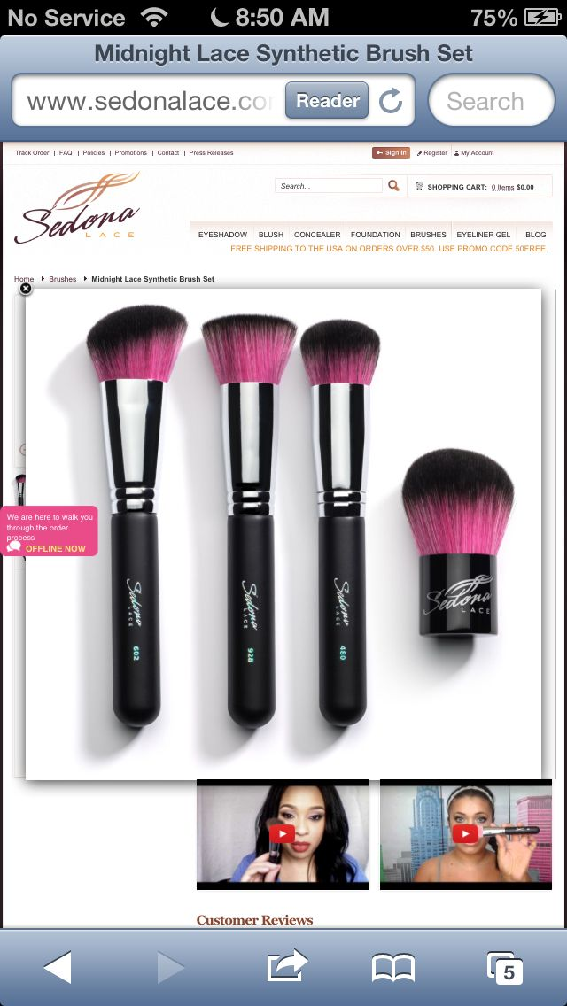 Want these brushes so bad!