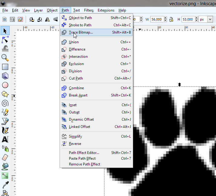 convert a simple image to vector graphic using gimp and inkscape sonne vektorgrafik flamme vektor