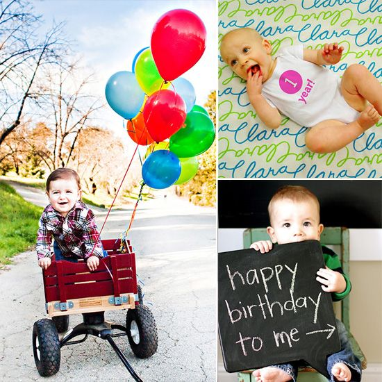 10 pictures to take on Baby's 1st Bday