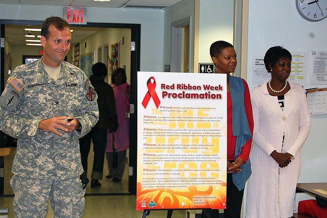 Red Ribbon Week - U.S. Army Garrison Humphreys, South Korea - 22 October 2012 by USAG-Humphreys, via Flickr