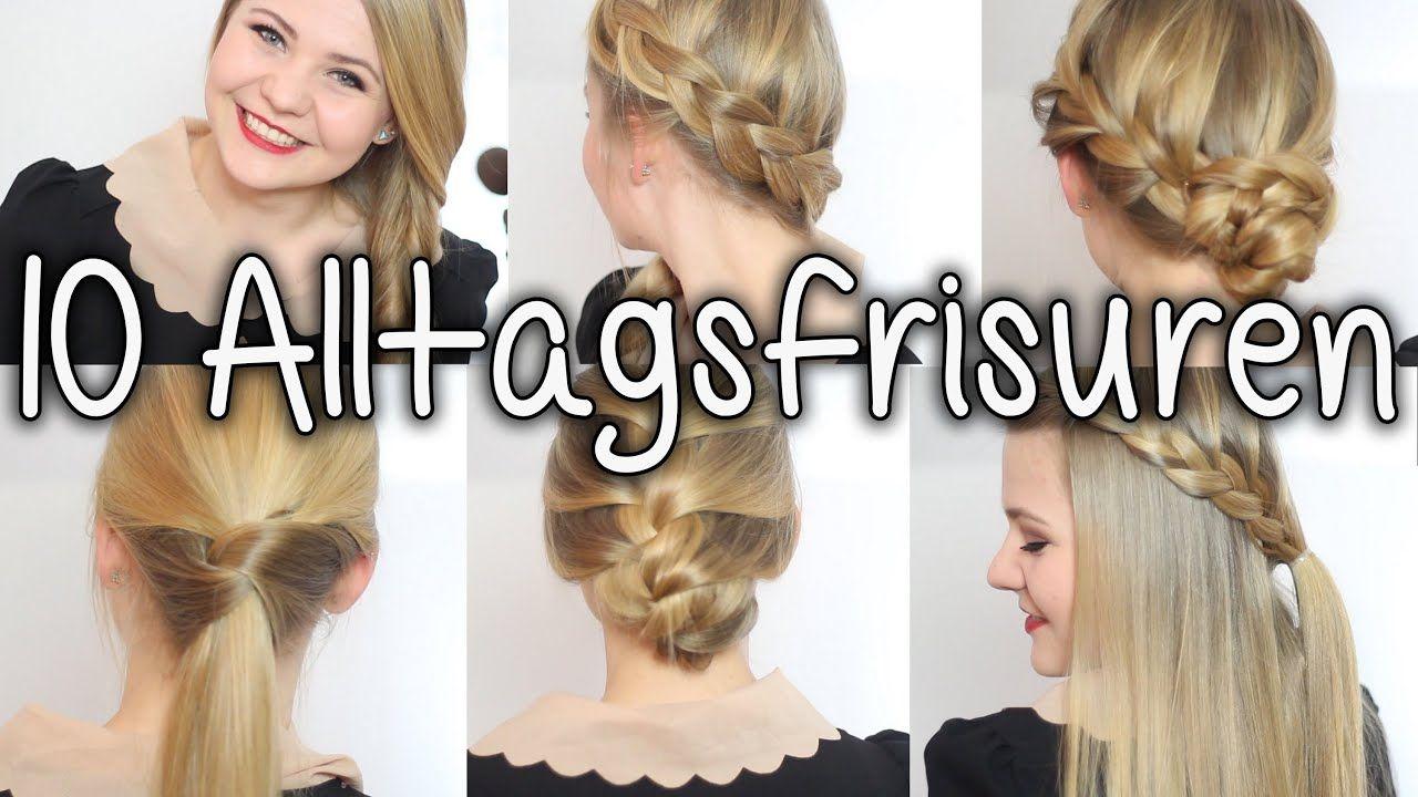 Beliebte Alltags Frisuren Fuer Mittellange Haare Im Jahr 2018 Frisurenfurmittellangehaare Frisurenfurmittellan Long Hair Styles Fast Hairstyles Hair Styles